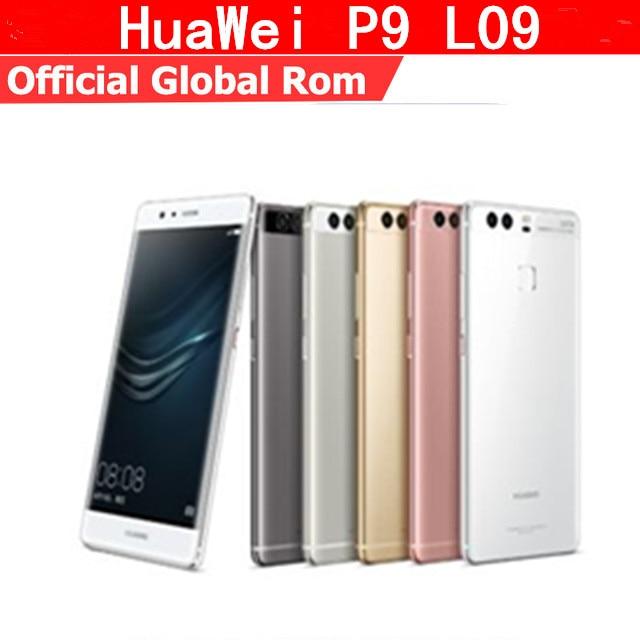 Original HuaWei P9 4G LTE Mobile Phone Kirin 955 Octa Core Android 6.0 5.2