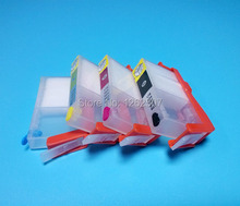 Inkjet printer refill inks cartridge with ARC chips for HP 670 For hp 4615 4620 3525