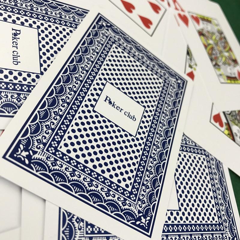 Hot 2-set / Lot Baccarat Slät Vattentät Texas Hold'em Poker Club - Underhållning - Foto 5