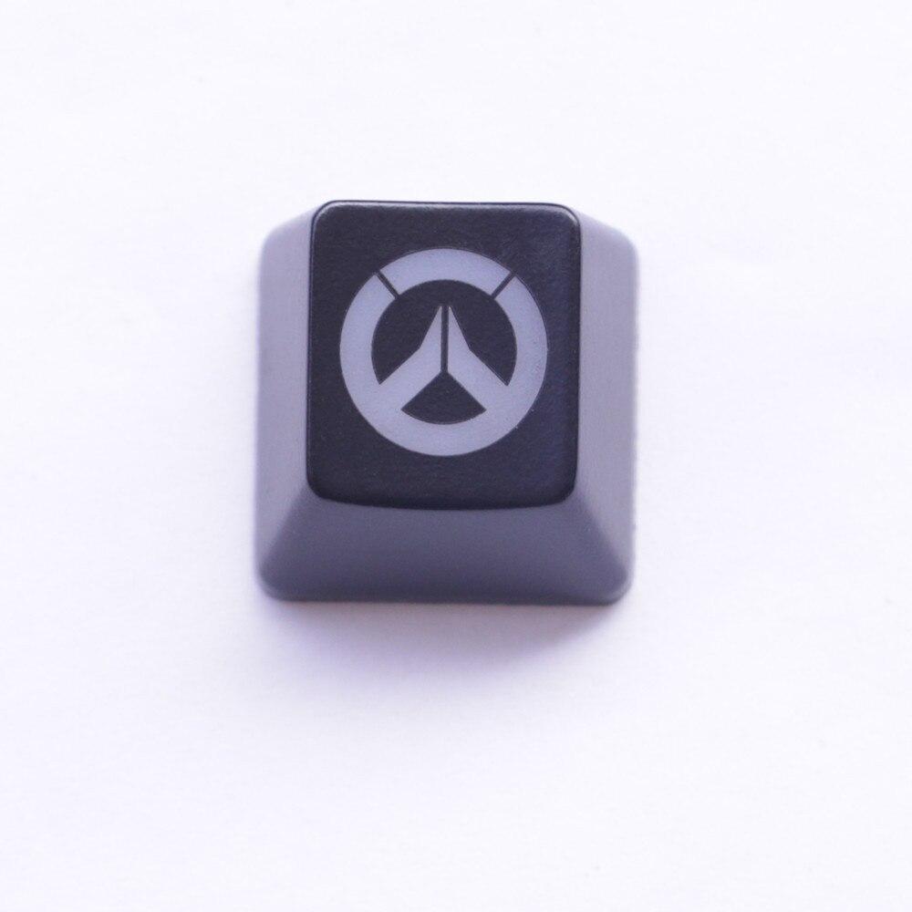 Tastenkappen Hintergrundbeleuchtung Mit Overwatch Muster ESC/Enter Keycap Kirsche MX Tastenkappen Für Mx-schalter Mechanical Gaming Tastatur
