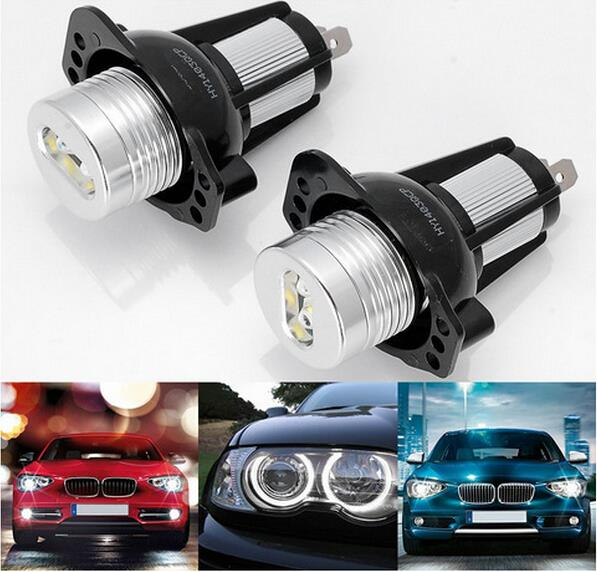 Excellent Quality xenon white LED Angel Eyes Halo Light bulb For BMW E90 E91 3 Series 325i 328i 325xi 328xi 330i 06-08 No Error new for 416127 b21 416248 001 sas 300gb 1 year warranty