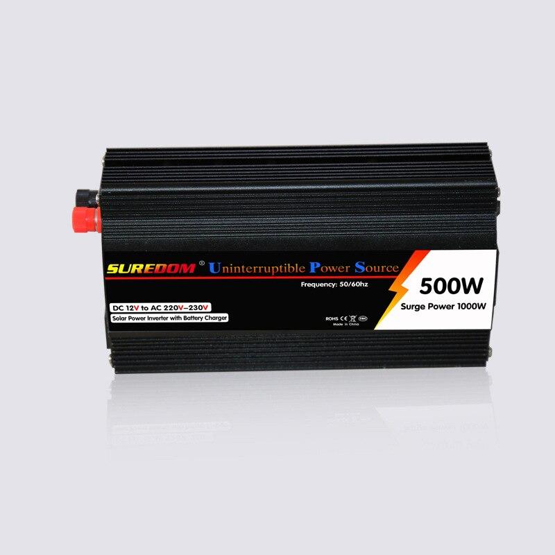 цена на Voltage converter 12V to 220V 24V to 220V 500WUPS inverter, modified wave inverter power supply, uninterruptible power converter