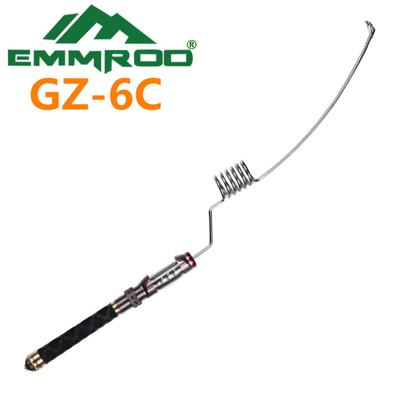 The new 2016 EMMROD elastic fishing rod Ultrashort portable road and rod sea raft pole GZ - 6 c mz 7c cork straight shank elastic rod fishing sea rod fishing activities