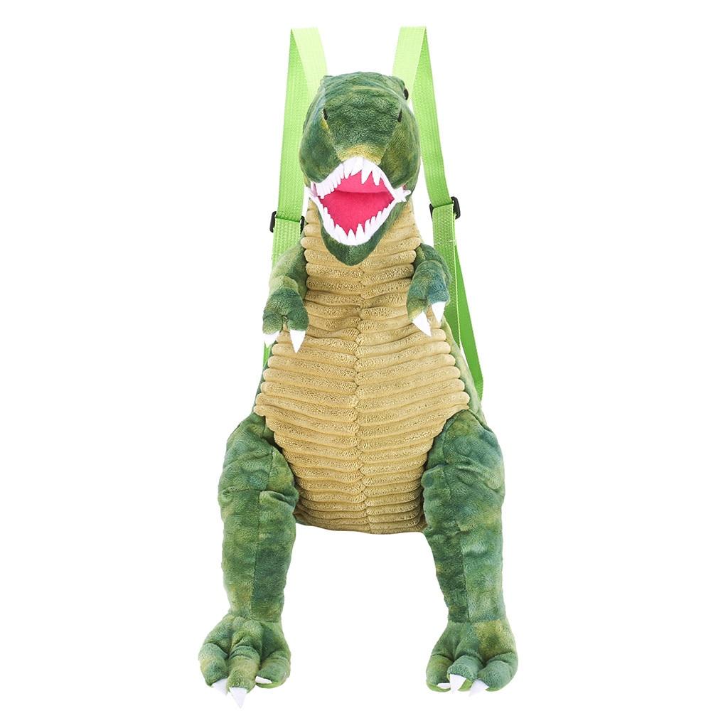 Dinosaur Bag School Backpack Children New Animal-Shape Famale -Gex