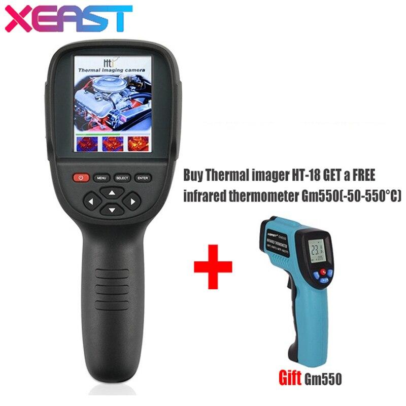 Caméra d'imagerie Portable HT-18 imageur thermique Portable HT18 220*160 haute résolution
