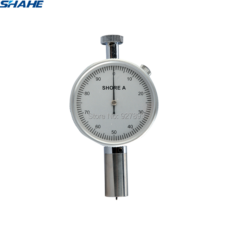 portable single needle shore hardness tester test gauge LX A 1