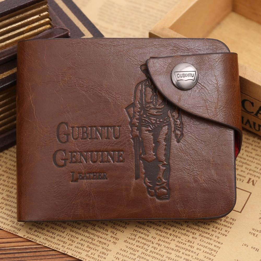 Men Wallet Vintage Hollow Out Male Money Bag Hasp Leather Wallet Men Clutch Purse Slim Card Holder Men Wallets Coin Pocket 223