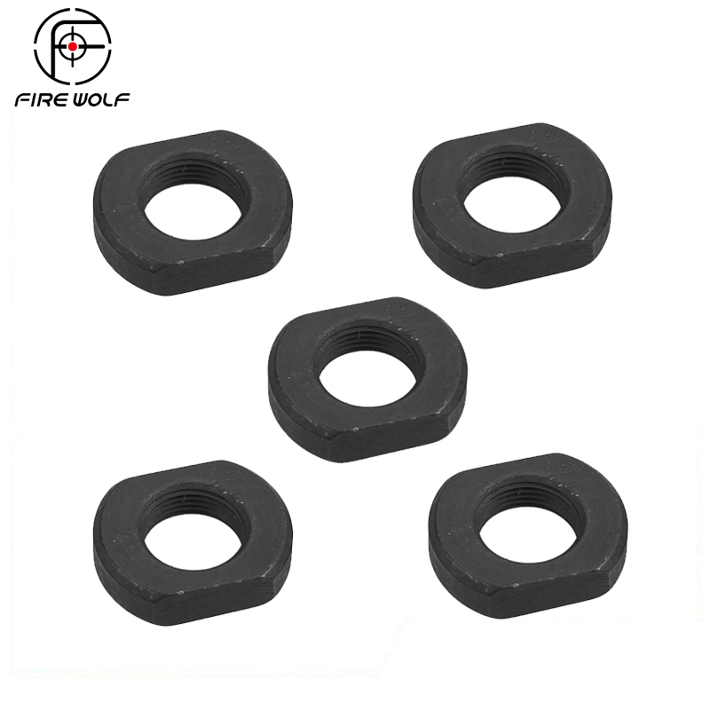 FIRE WOLF 5~50PCS .223 Jam Nut Muzzle Brake Adjuster Threaded Washer 1/2x28 Thread|Hunting Gun Accessories| |  - title=