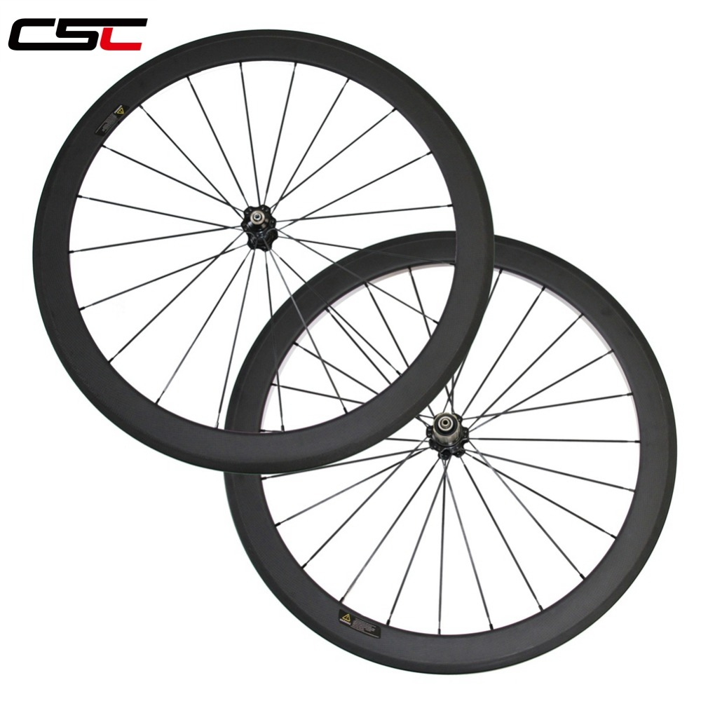 650C 50mm clincher carbon road cyclocross fiber bicycle rim one piece only