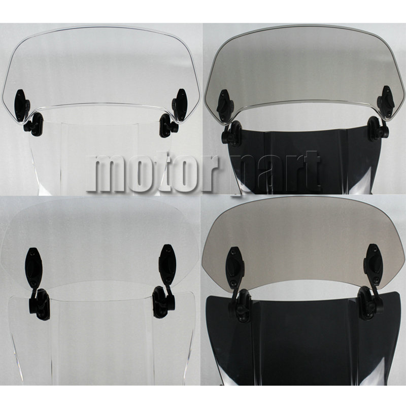 For 2008 2019 BMW F800GS F700GS F650GS F 800 700 650 GS Motorcycle Rise Screen Spoiler