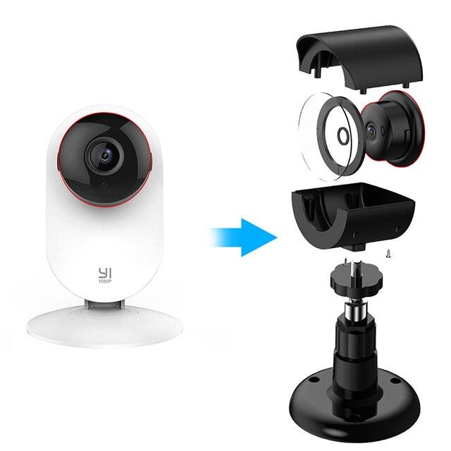 360 градусов Поворотный кронштейн держатель для YI 1080 p/720 p домашняя камера открытый и Крытый Всепогодный Корпус для Xiaoyi домашняя камера