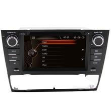 Double din 7 inch Car Radio audio  For bm W E90 E91 E92 E93  support rear camera Bluetooth Steering Wheel Control GPS RDS map