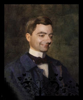 Mr bean painting electronic wallpaper electronic wallpaper mr bean as the mona lisa rembrandt and other iconic paintings mr bean as thomas more by hans holbein the younger art expert mr bean painting restoration solutioingenieria Image collections
