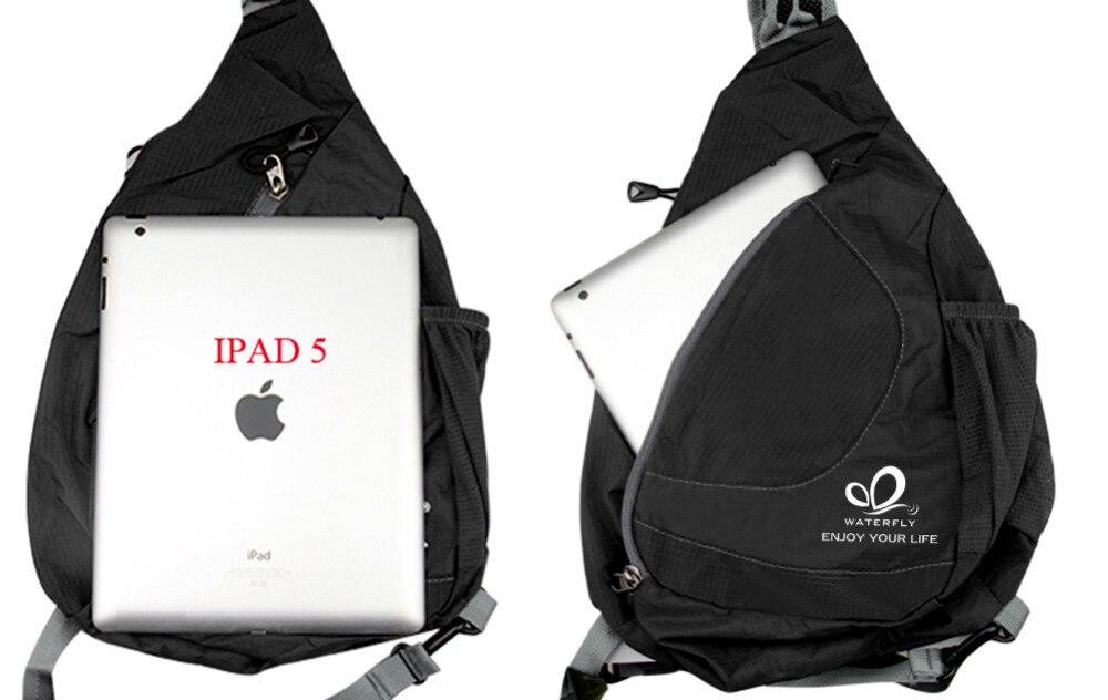 Сән One Shoulder Backpack Ашық Үшбұрыш Тренді - Спорттық сөмкелер - фото 2