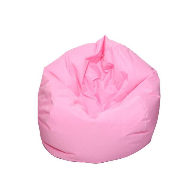 Brilliant Us 13 85 33 Off Lanlan Waterproof Stuffed Animal Storage Toy Bean Bag Solid Color Oxford Chair Cover Beanbag Filling Is Not Included In Outdoor Uwap Interior Chair Design Uwaporg
