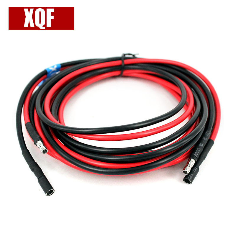 XQF 3m Removable Separation Extension Power Cord Cable for Motorola GM300 Mobile Car Radio Walkie Talkie
