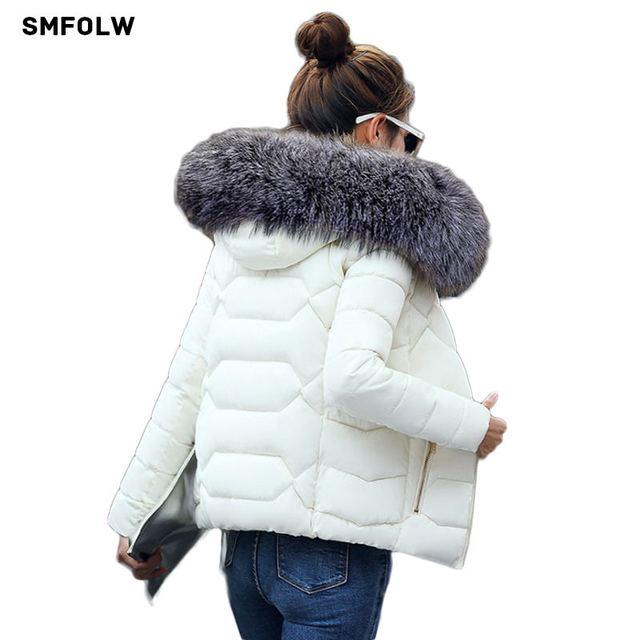 Лидер продаж! 2017, Новая мода зимняя куртка Для женщин Поддельные Енот меховой воротник зимнее пальто Для женщин Мужские парки теплая куртка-пуховик женские верхняя одежда