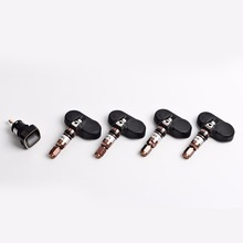 TN300 Wireless tpms Tire Pressure Monitor System tmps with 4pcs Internal Sensors for All Car Cigarette Lighter Plug Display Car
