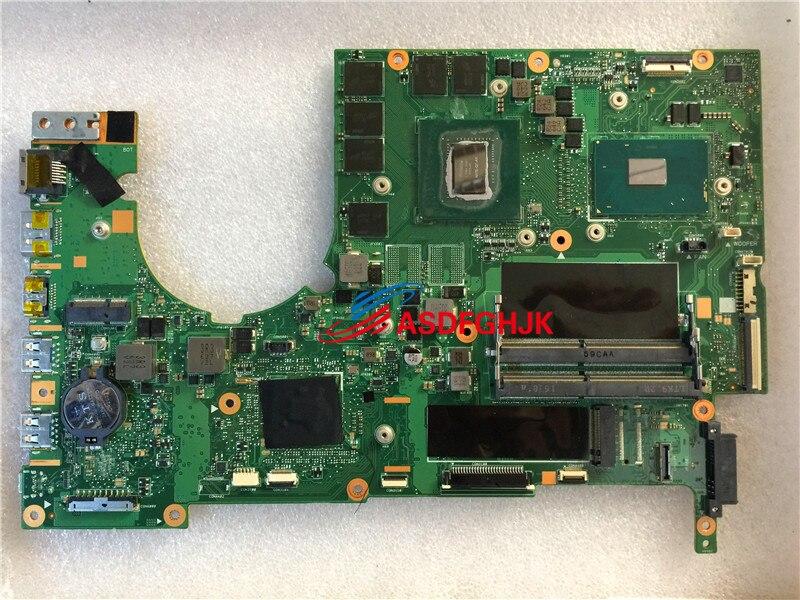 Original MU5DC/CH7DC Rev 2.1 FOR Acer Predator G9 593 LAPTOP MOTHERBOARD WITH I7 6700HQ AND GTX1060M 100% TESED OK