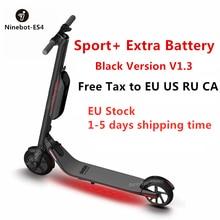 2019 Ninebot Segway KickScooter ES4/ES2 Smart Электрический самокат складной легкий доска ХОВЕРБОРДА скейтборд гироскутер