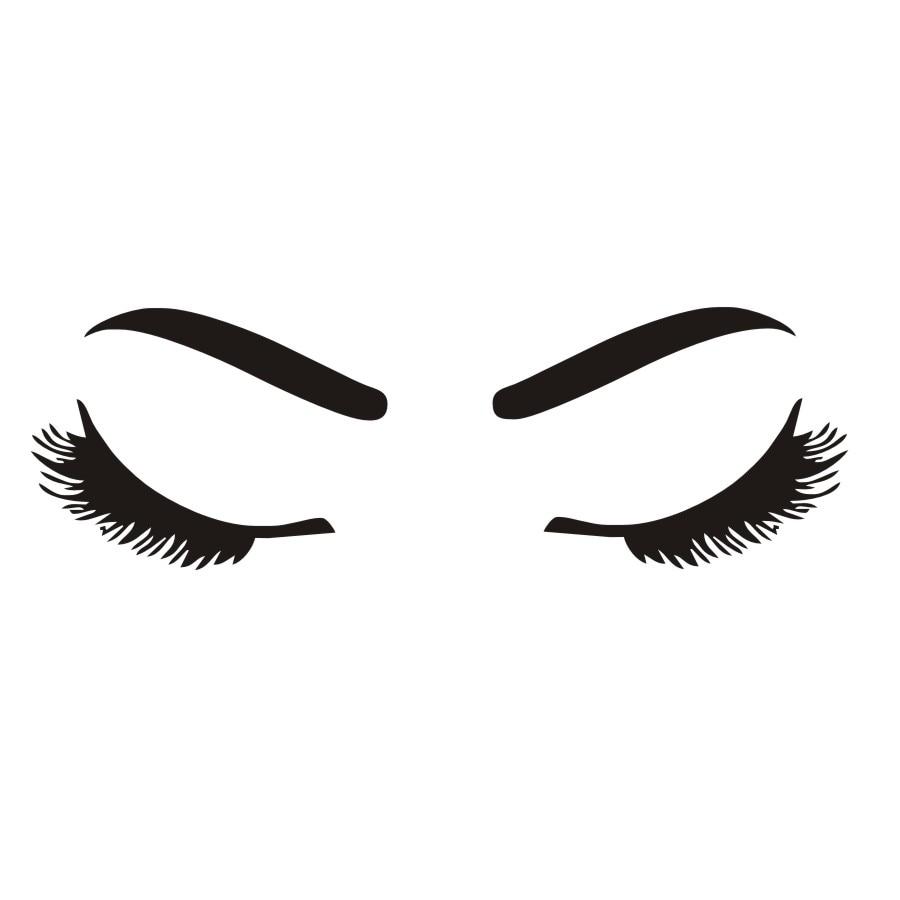 aliexpress com buy beautiful u0027s eyelash and eyebrow wall