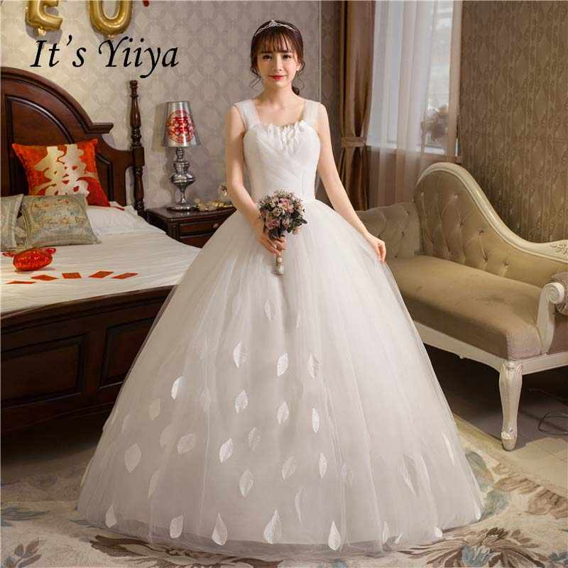 Free Shipping 2017 Plus size O-neck Romantic Lace Tulle wedding Dresses  Princess Bride Gowns c9cb93cd8d33