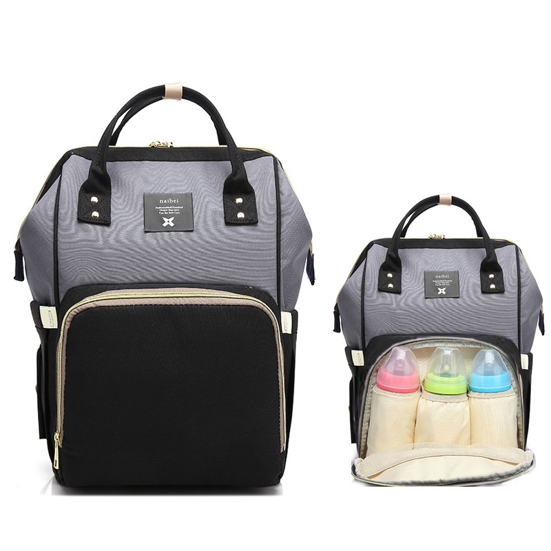 Waterproof baby diaper bag fashion mommy pregnant woman large capacity travel backpack designer baby care bagWaterproof baby diaper bag fashion mommy pregnant woman large capacity travel backpack designer baby care bag