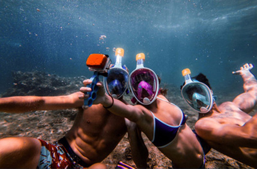 mergulho máscara de mergulho para gopro câmera
