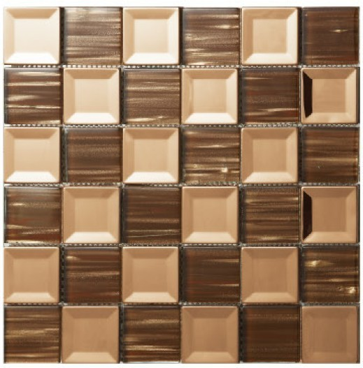 Home Improvement Crystal Gl Concave Metal Mosaics Stainless Steel Office Bathroom Kitchen Villa Wall Mosaic Tiles