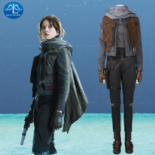 2017 New Womens Rogue One: A Star Wars Story Jyn Erso Cosplay Costume Halloween Costumes Mens Outfit