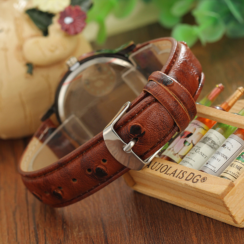 Vintage mens watch casual leather wrist watches world map rome vintage mens watch casual leather wrist watches world map rome digital alloy dial antique quartz watch men montre homme relojes in quartz watches from gumiabroncs