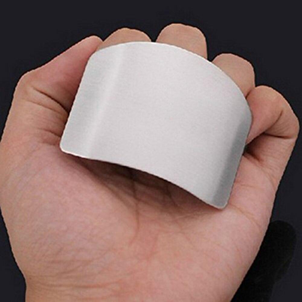 1 шт., нержавеющая сталь, кухонная защита для рук, защита для пальцев, защита для резки, Безопасный инструмент для защиты ножей