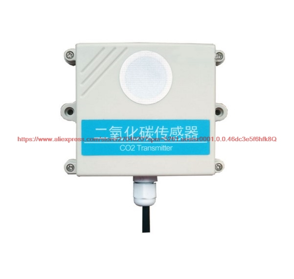 4 20mA 0 5V 0 10V Built in Probe Single CO2 Sensor Concentration Detection Transmitter RS485