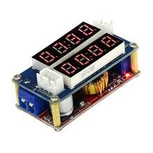Eletrônica inteligente 5A Corrente Constante/Tensão LED Driver de Carregamento Da Bateria Módulo Voltímetro Amperímetro TK1210