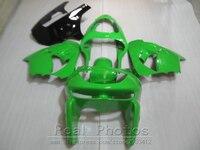 Мотоцикл обтекатель комплект для Kawasaki Ninja ZX9R 98 99 цвета: зеленый, черный Обтекатели для кузова Комплект ZX9R 1998 1999 OT22