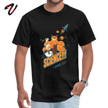 Science It Knows Stuff Tops & Tees Wholesale Crew Neck Street Mexico Sleeve Michael Myers Mens Tshirts Leisure T-Shirt