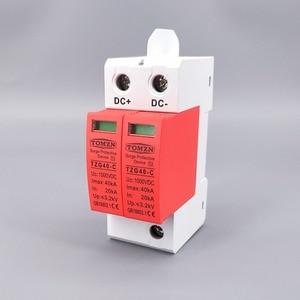 Image 2 - SPD DC 1000V 20KA~40KA  House Surge Protector Protective Low voltage  Arrester Device