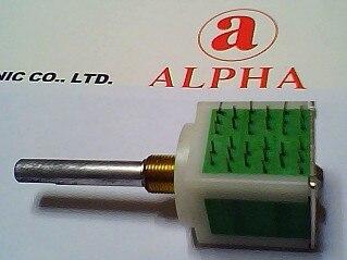 Тайвань ALPHA кодовый переключатель RE236 импульсный поворотный переключатель кодировщика