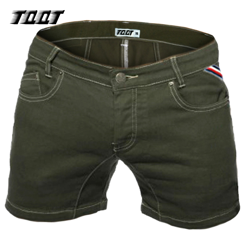TQQT Shorts Jeans Male Stretch Denim Bermuda Slim Short Men Low Waist Mens Cargo Shorts Solid Large Colored Short Jeans 5P0602