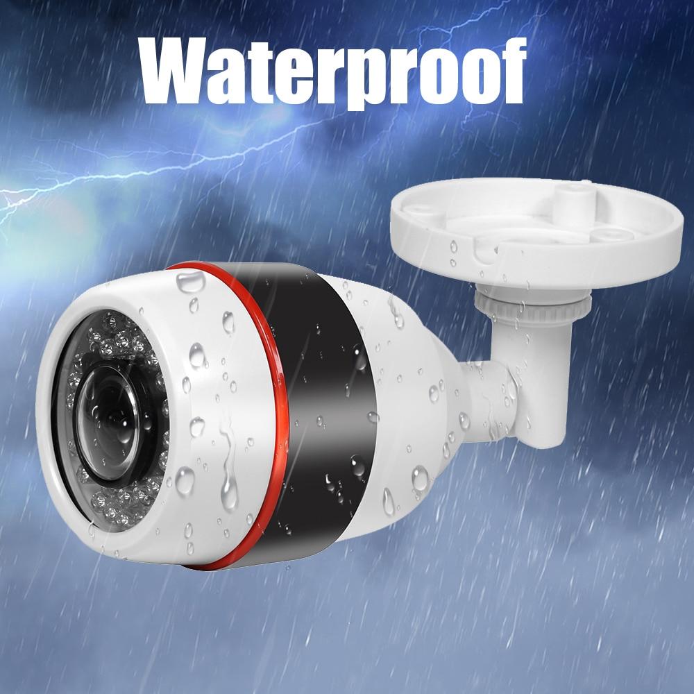 Vanxse CCTV 1/3 Sony CMOS HD 1200TVL 12LED IR-CUT 960H 180degree Fish Eye Lens waterproof Bullet Security Camera with bracket hk1080ir2 waterproof 1080p hd 1 3 cmos 1 0mp cctv camera w 2 ir led silver