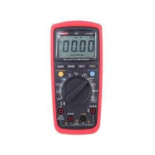 Digital Multimeters Portable AC/DC Voltage Meter Voltmeter AC Current Tongs Insulation Resistance Capacitance Diode Tester holdpeak hp 990c smd digital insulation tester multimeter auto power off resistance capacitance power battery insulation tester
