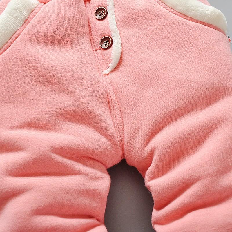Warm Fleece Pants for Baby Girls