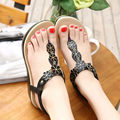 2016 Summer New Fashion Bohemian Style Shoes Women Wedge Brand Shoes Sexy Womens Sandals 5cm Heels Solf Sole Sweet