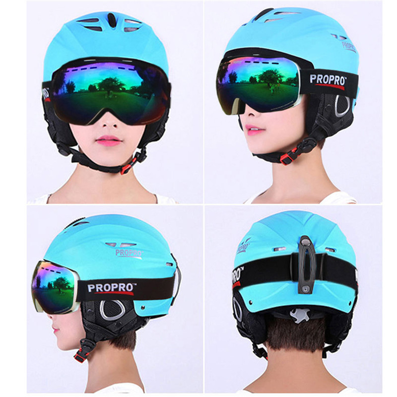 PROPRO Brand Outdoor Sport Helmets Integrally-molded Skiing Helmet For Adult and Children Safety Skateboard Ski Snowboard Helmet arrive in 18 39 days 2014 hot sale factory supply integrally molded adult ski sports helmets skateboard skiing helmets
