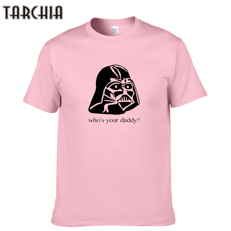 TARCHIA 2019 new funny summer t-shirt cotton tops tees who your daddy men short sleeve boy casual homme tshirt t shirt plus