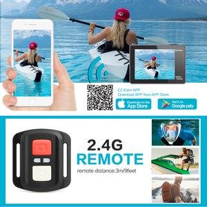 Image 4 - GEEKAM عمل كاميرا T1 شاشة تعمل باللمس الترا HD 4 K/30fps 20MP واي فاي تحت الماء مقاوم للماء دراجة خوذة المتطرفة الرياضة كاميرا فيديو