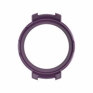 Image 2 - Novo 10 cores capa protetora caso protetor quadro escudo acessórios durável fino para amazfit verge relógio inteligente