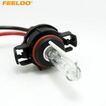 FEELDO 1 Пара Авто 12 В/35 Вт H16/PSX24W/5202/5002/9009/2504 автомобильные ксеноновые лампы HID лампы