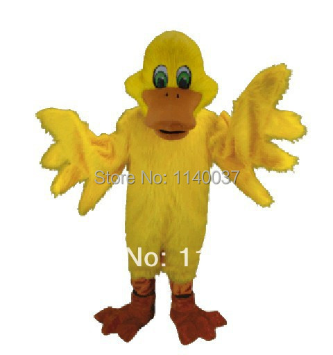 mascota galben rață mascota costum personalizat costum fantezie - Costume carnaval