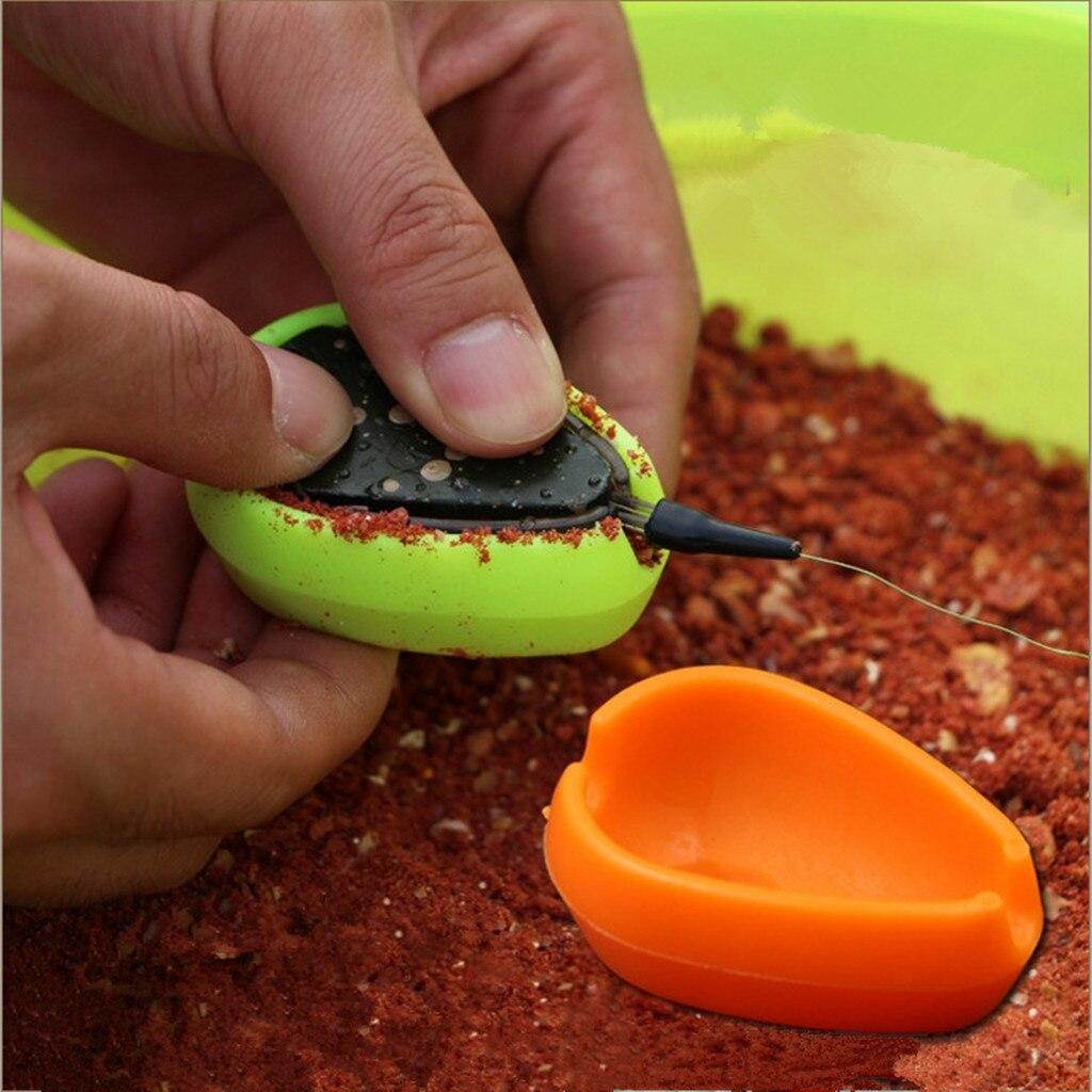 Método del alimentador de pesca molde carpas cebo forma de alimentación herramienta de liberación rápida molde Metodo del molde methode la moisissure